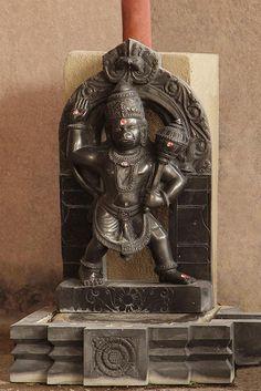 Hanuman sculpture is completely carved and finalized and kept aside before installing it in the temple.Hanuman sculpture is completely carved and finalized and kept aside before installing it in the temple. Saraswati Goddess, Kali Goddess, Shiva Art, Shiva Shakti, Shri Hanuman, Krishna, Indiana, Lord Hanuman Wallpapers, Hanuman Images