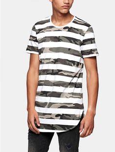 Print T-shirt White - The Sting