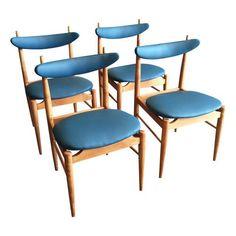 Image of Danish Mid-Century Modern Dining Chairs