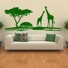 Brighten up any wall in your home with an easy to apply wall sticker. Available in up to 8 sizes and 37 colours you're sure to find a design suitable for any room in your home. Our wall stickers are a great way to transform a bare wall and are suitable for homes, vehicles, offices, bars, restaurants & shops. They can be used indoors and outdoors on a wide variety of surfaces, they can be removed without damaging paintwork, although once removed they cannot be reused.