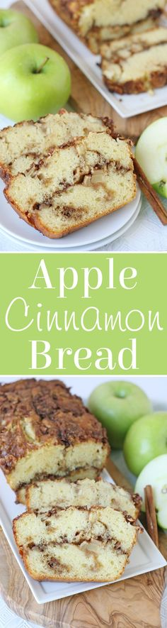 Simply delicious APPLE CINNAMON BREAD!