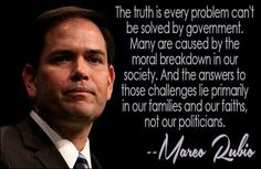 Marco Rubio Quotes Adorable Marco Rubio Quote  Marco Rubio  Pinterest  Marco Rubio Quotes