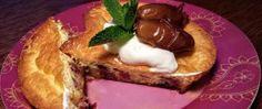 Datlový koláček bez cukru a mouky Nutella, Lava, French Toast, Paleo, Low Carb, Vegan, Cooking, Breakfast, Fitness