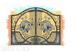 - Grill Gate Design, Steel Gate Design, Portal, Art Nouveau, Art Deco, Iron Work, Iron Gates, Metal Projects, Blacksmithing