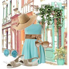 Summer Stroll in New Orleans, created by gardengrandmaw