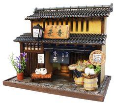 ビリー 手作りドールハウスキット 京都シリーズ 京町家キットII 漬物屋 8503:Amazon.co.jp:おもちゃ