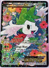 Pokemon Card SHAYMIN EX FULL ART RC21/RC25 LEGENDARY TREASURES SET HOLO RARE