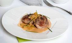 Receta de Ossobuco de pavo con piña y patata