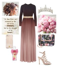 """""""Prom Queen"""" by kortlynwells ❤ liked on Polyvore featuring Elie Saab, Steve Madden, Ted Baker, Juicy Couture, Disney and Tory Burch"""