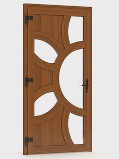 House Main Door Design, Single Door Design, Wooden Front Door Design, Wooden Front Doors, Door Design Interior, Roof Truss Design, Modern Wooden Doors, Bedroom Cupboard Designs, Bedroom False Ceiling Design
