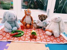 Your child can play these with any soft toy – giving you 5 minutes for you. Obstacle Course, Game Ideas, Games To Play, Your Child, Little Ones, Activities For Kids, Picnic, Teddy Bear, Reading