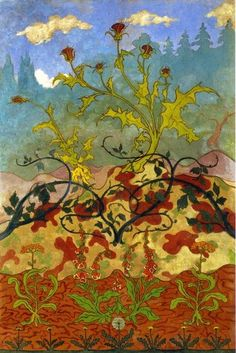 Paul Ranson Edge of the Forest Vintage Print