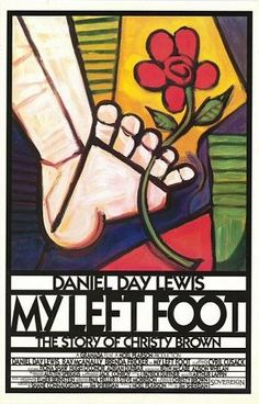 My Left Foot: The Story of Christy Brown is a 1989 drama filmed - starring Academy Award winner Daniel Day-Lewis as Christy Brown, an Irishman born with cerebral palsy, who could control only his left foot.