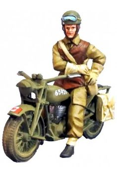 CANADIAN DISPATCH RIDER WITH NORTON