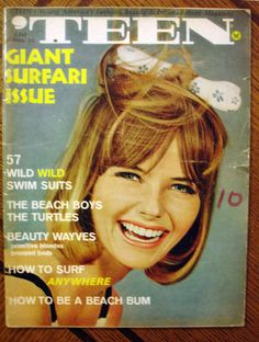 RARE 'Teen Magazine 6 66 Cheryl Tiegs Beach Boys Jan Dean The Turtles | eBay