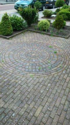 Cirkel combi met bakstenen