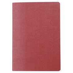 Libreta pasaporte de hojas lisas