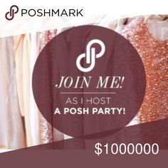 Join me as I co-host a posh party on 4-18 🎉 I'm super excited to be co-hosting my second Posh Party on Tuesday  April 18th (evening party) join me and let's have some fun! 😉theme to be determined. 🌺 I'll be looking for Host Picks soon so stay tuned! 😊 lucy6mahon Jewelry