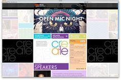 TEDxRVA website designed by circle S studio #web #design #rva