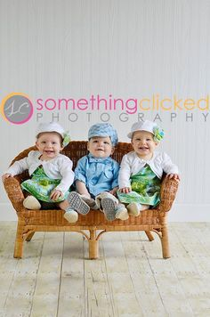 Toddler Triplets Photography