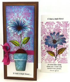 2011 Creation Penny Black Flower and Flower Soft