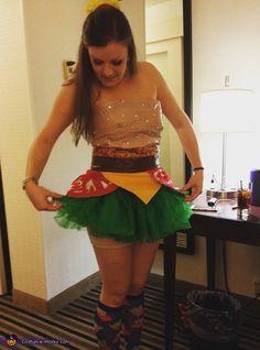 Bacon Cheeseburger Costume - Halloween Costume Contest via @costume_works