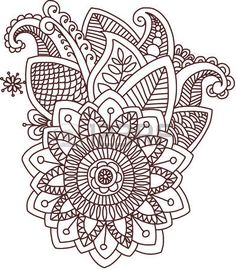 41817410-vector-isolated-pattern-doodle-style-mehndi-indian-fantasy-decoration-template-ornament-hand-drawn-d.jpg (304×350)
