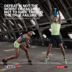 If you get back up every time you fail, you're doing it right! Winners don't give in to defeat. #Fitness #Motivation #Gym #Abs #Workout