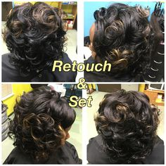 Retouch & Set Call 601-946-5161 for appointments 💋💞