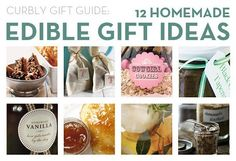 **12 Homemade Edible Gift Ideas