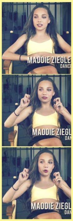 Maddie Ziegler in the Elastic Heart teaser