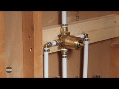 Beautiful VIDEO : Diy How To Install Copper To Pex Shower And Bath Plumbing   How To  Renovation Video Library: . VIDEO : Most Common Plumbing Too.