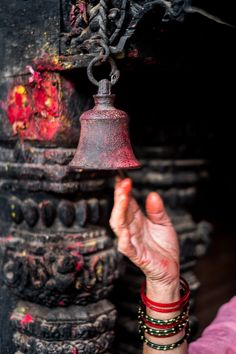 Nepal, temple bell