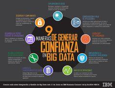 9 maneras de general confianza en Big Data #infografia
