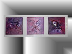 Rubino – Pittura in acrilico su 3 tele 20x20  http://ilmondodifam.wix.com/famou