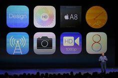 Le icone di iOS8 (foto: ANSA )