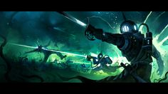 ArtStation - Dominik Mayer's submission on Beneath the Waves - Keyframe Concept Art