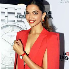 bollywood deepika padukone launches tissot brand watch - Bollywood News in Hindi