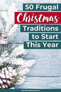 I love Christmas traditions! Especially when they aren't super expensive - So fun to make memories with the kids. These 50 frugal Christmas traditions are awesome. Can't wait to try some this year :) eve 50 Frugal Christmas Traditions To Start This Year Merry Christmas, Christmas Planning, Christmas On A Budget, Cheap Christmas, Homemade Christmas, Diy Christmas Gifts, Holiday Fun, Christmas Holidays, Christmas Decorations