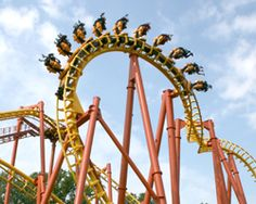 A contest offered by Six Flags for students that design their own roller coaster