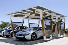 BMW i Solar-Carport