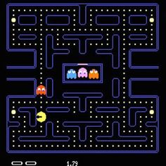 Pac-Man - what's not to love? My first love affair with video games!