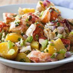 Lobster & Potato Salad - Barefoot Contessa