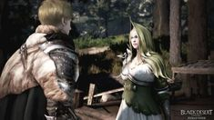 Florentino Ibarra and a Ganelle Elf at Atanis Pond - An Unexpected Reunion — Black Desert Online SEA Philippines: Stories – Black Sun Tell My Story, Love Story, Still In Love, My Love, Black Desert Online, Slack Off, Up To The Sky, Waiting For Him, My Cousin