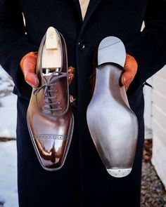Handmade leather shoes for sale Big Men Fashion, Mens Boots Fashion, Gents Shoes, Shoes Men, Men Dress, Dress Shoes, Dress Clothes, Gentleman Shoes, Handmade Leather Shoes
