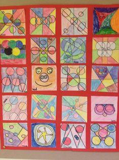 5 cirkels en 5 lijnen