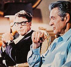 """Burt Lancaster y Robert Ryan en """"Acción Ejecutiva"""" (Executive Action), 1973"""