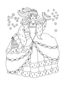 Fashion-coloring page