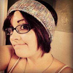Afghan crochet headband!!