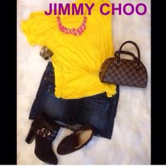 🎀Beautiful JIMMY CHOO 💯AUTHENTIC booties 9 39.5 JIMMY CHOO 💯AUTHENTIC💯 boot 9 Jimmy Choo Booties $1000. NO 🅿️🅿️ NO trades.  Buy with confidence CAN'T BUNDLE 39.5EU Wears like 9. HOT PINK BOX, BOW, tags, receipt INCLUDED AUTHENTIC GORGEOUS NEW NEVER WORN, COMFY spacious round toe gold buckle leather straps chocolate Suede exterior receipt tags hot pink box More photos/videos available -height 7.25in -heel 3.5in -origin:Italy. I never ever buy/sell replicas. Jimmy Choo Shoes Ankle Boots…